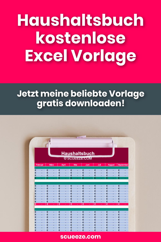 Haushaltsbuch Excel Vorlage